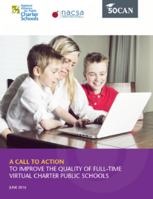 Call to Action to Improve the Quality of Full-Time Virtual Charter Public Schools Cover