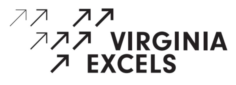 Virginia Excels logo